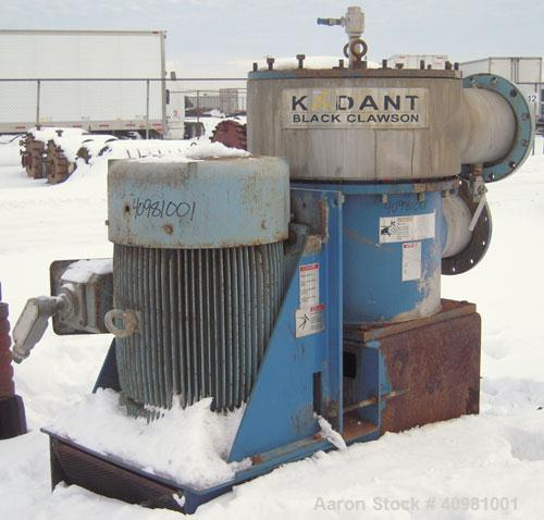 Used- Kadant Black Clawson Selectifier Screen, model 24PHL screen, 316 stainless steel. Approximately 24'' diameter screen, ...