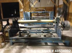 "Used- Pinnacle Converting Slitter Rewinder. Unwind: 62"" max roll width, up to 48"" roll diameter, 2,000 lbs max. roll weight...."