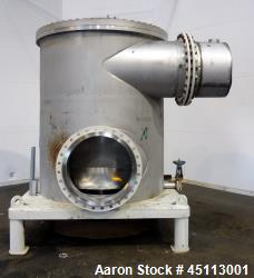 Used- Stainless Steel Bird Centriscreen Pressure Screen, Model 70 CN