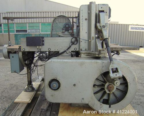 "Used- Harris Seybold Shear/Cutter, Model CFD-P.51'' wide blade with an approximate 51"" wide x 20 1/2"" deep infeed table. Foo..."