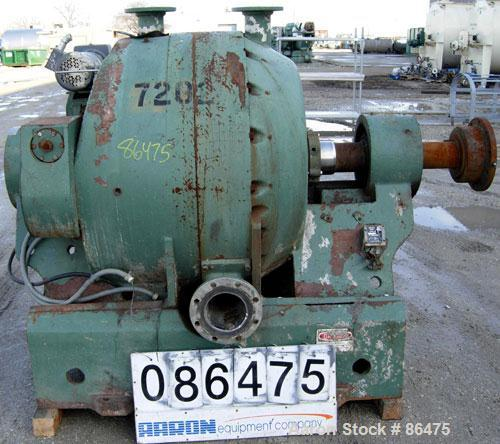 "USED- Sprout Waldron Electro-Mechanical 34"" Twin-Flo Refiner, Model R34. Approximate 34"" diameter. (2) 4"" top feed flange co..."