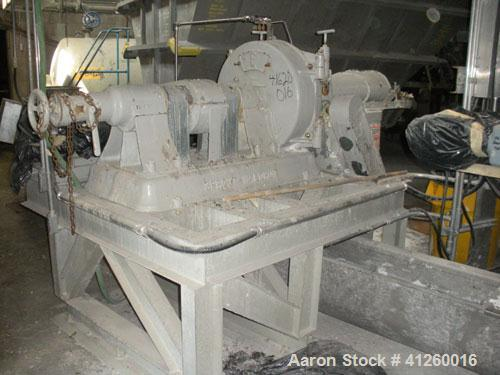 "Used-Sprout Waldron Refiner, approximately 30"" diameter."