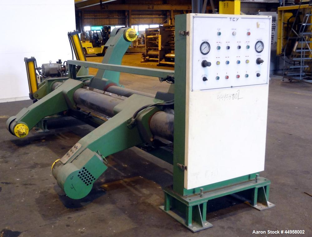 Used- TCY Tien Chin Yu Machinery Shaftless Mill Roll, Model MSIII