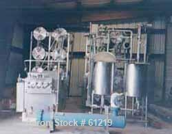"Used- Cherry Burrell Ultra High Temperature (U.H.T.) Processing System. ""NO BAC"" spiraltherm tubular heat exchanger design p..."