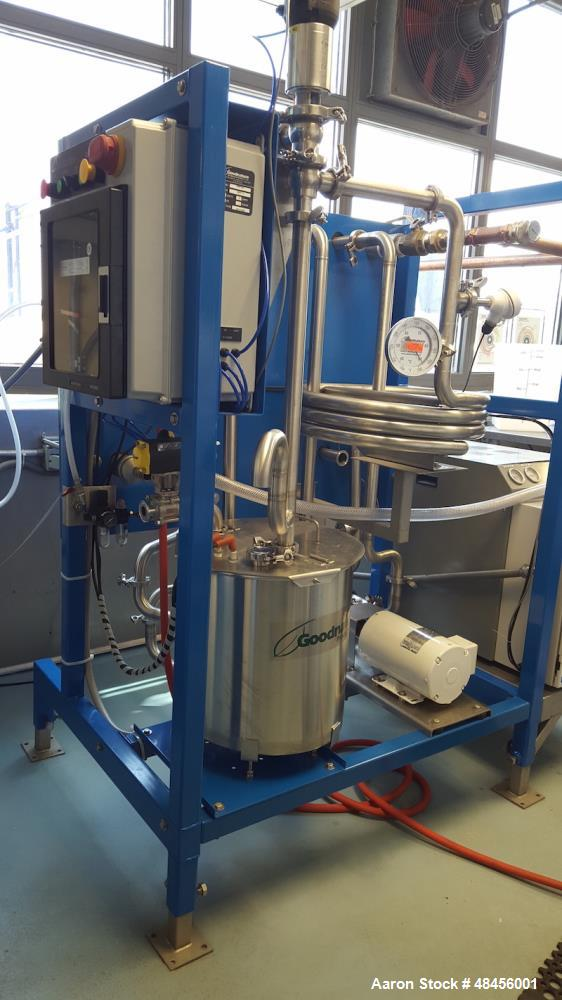 Used- Goodnature Plug and Play HTST Flash Pasteurizer, Model: MFP 144- PnP Skid