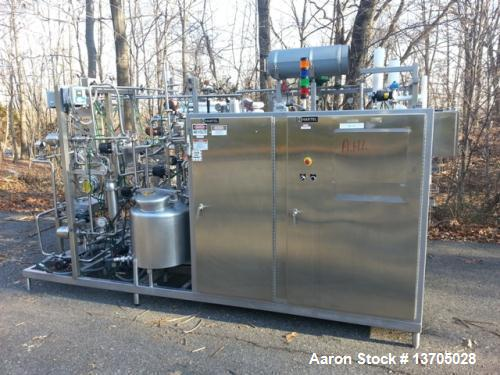 "Used-Stainless Steel Hartell ""HTST"" Pasteurizer Skid"