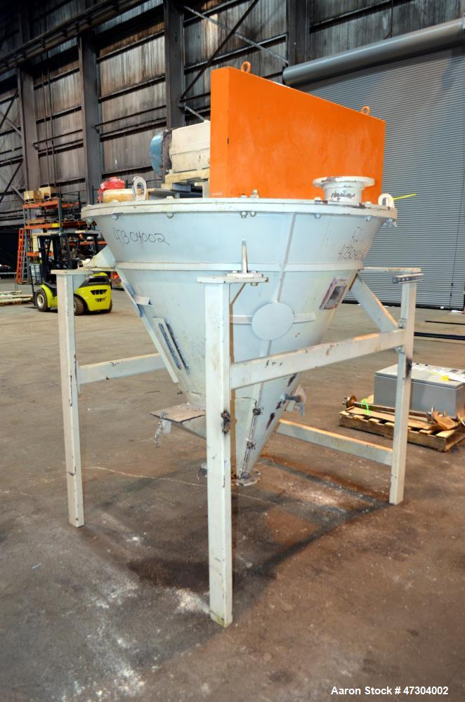 Used- Crammer Feeder, Carbon Steel.