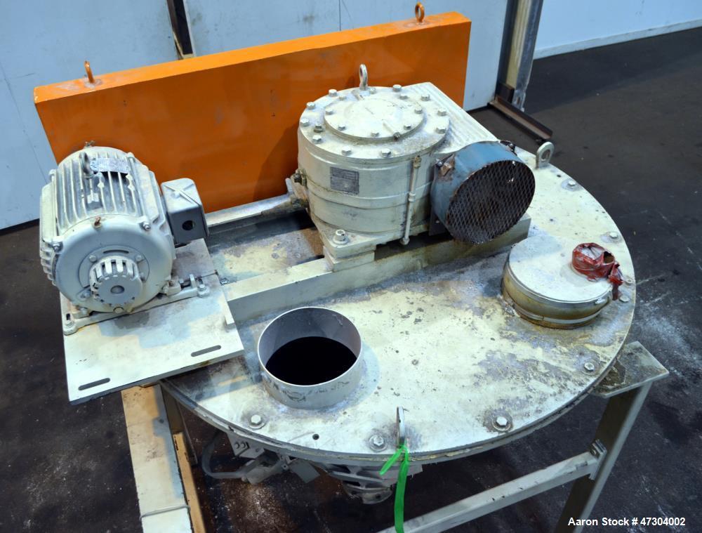 Used- Crammer Feeder, Carbon Steel.