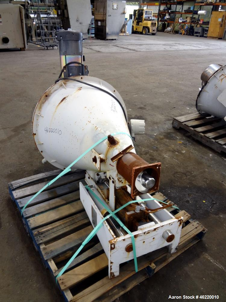 "Used- Cincinnati Milacron Crammer Feeder. Approximately 5"" diameter 304 stainless steel vertical feed screw. Carbon steel sl..."