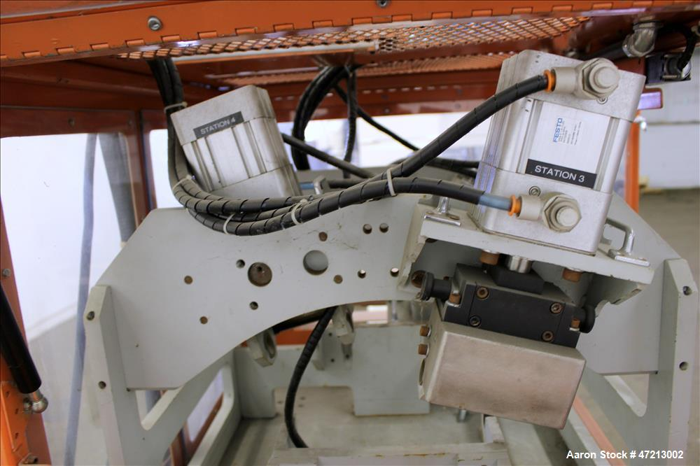 Used- CDS Embosser/Texturing Unit, Model CES-4C.