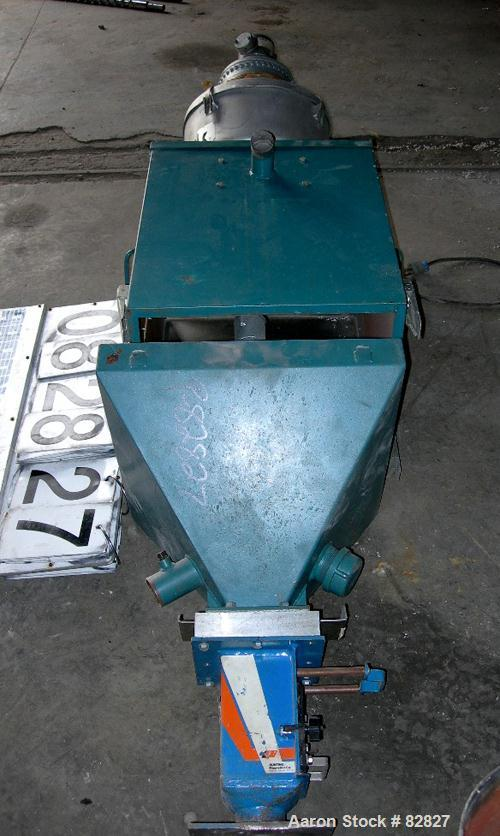 USED: Dry Air 8000 drying hopper. Includes a Whitlock loader and Bunting magnet.