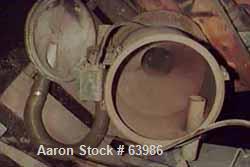 "USED: Ramco vacuum loader, carbon steel, 14"" diameter x 10"" straightside x 6"" cone, 6"" diameter discharge."