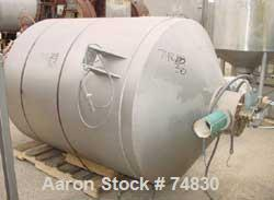 USED: Stainless Steel Shick 3600 pound scaling/receiving hopper