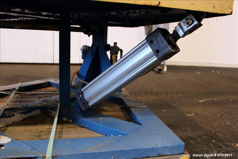 "Used- Conair/Franklin Gaylord Raised Platform Box Tilter, Model 120004. Capacity 1,200 lbs. 40-1/2"" X 40-1/2"" Platform. Tilt..."