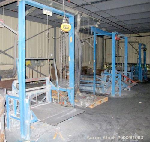 Used- Custom Fabricated Gaylord Dumping Station