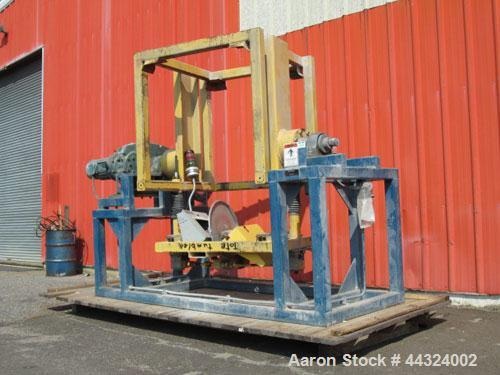 "Used- Tote Systems tote tumbler, designed for a 48"" x 48"" tote with 15 hp, 230/460 volt motor, serial# 4TE-2709."