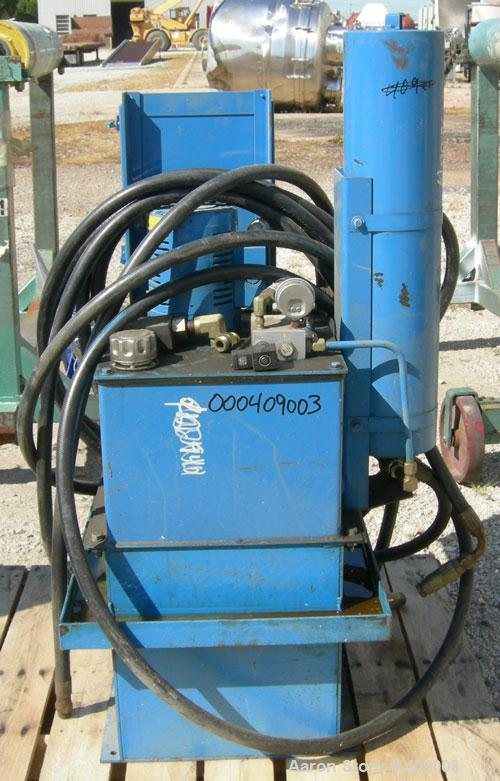 "Used- Dynisco 2 HP Hydraulic Power Pack, Model HPU252. Last used with a 3.5"" screen changers."