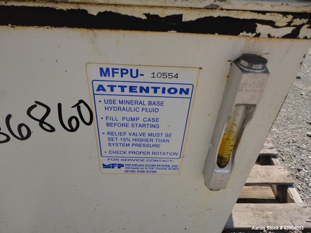 Used- Michigan Fluid Power hydraulic unit