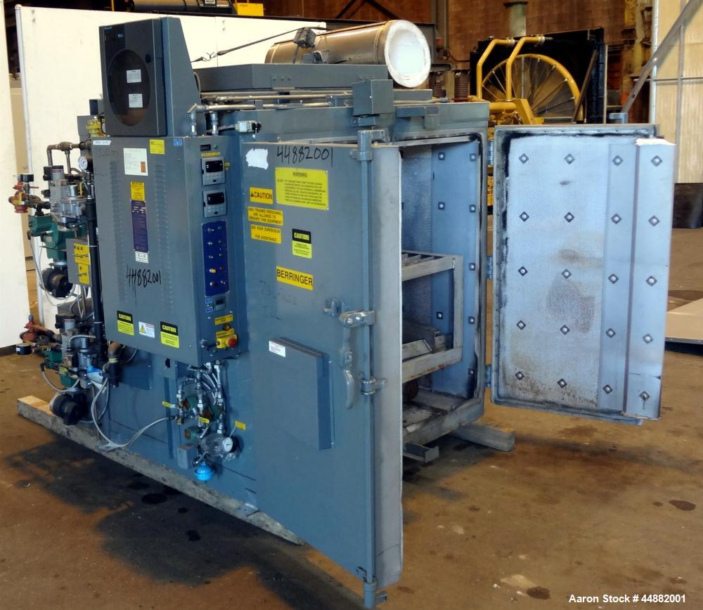 Used- Carbon Steel Steelman Industries Gas Fired Heat Cleaning Oven, Model 443 BA-P