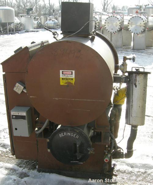 "USED: Beringer jet cleaner, model 1724, horizontal arrangement. 20"" diameter x 27"" deep working chamber, quick clamp cover. ..."