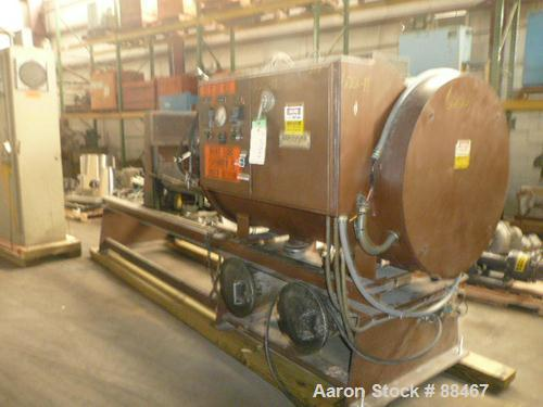 "Used- Beringer Jet Cleaner, Model 2448. Approximately 24"" diameter x 48"" long chamber. Roll out parts tray. Maximum operatin..."