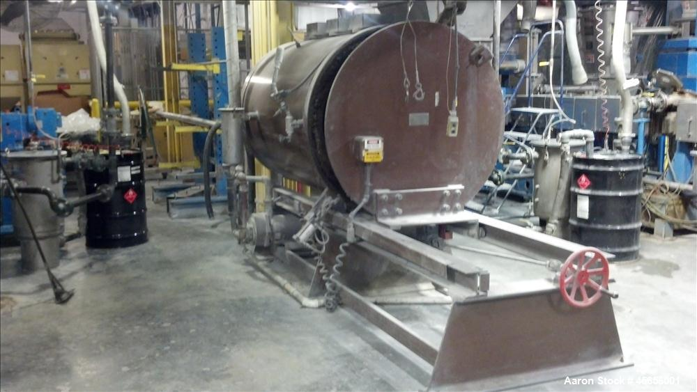 """Used-Beringer Model 2448 Jet Cleaner.  24"""" x 48"""" Long chamber with roll out parts tray, Eurotherm 2204e digital temperature ..."""