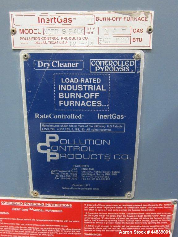 Used-Polution Control Products Jet Cleaner, Natural Gas 360,000 BTU, 115V, 60 Hz.