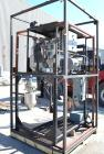Used- Pellertron Kinetic Dedusting System consisting of: (1) Pelletron kinetic deduster, model P10, 301 stainless steel. Rat...
