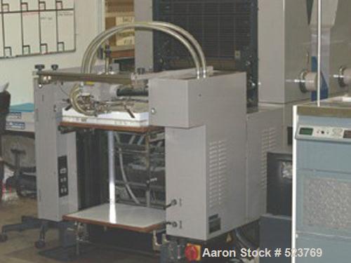 USED: 1996 Ryobi 582-H, 26m impressions printer. With Royce recirculator, Accel hot air dryer and Accel spray powder. Good r...
