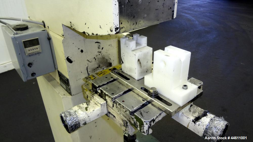 Used- Tampo Print Pad Printer, Model Hermetic 61. Single cycle, approximately 1300-1400 per hour. Ink doctoring cup 60 mm, c...