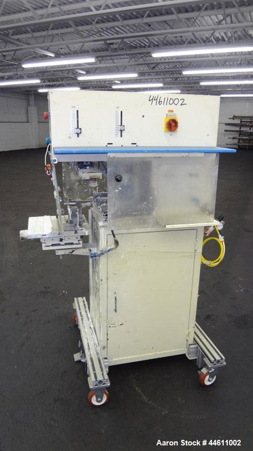 Used- Tampo Print Pad Printer, Model TTG/TSG 80/60-90/41. Single cycle, approximately 400-1500 per hour. Ink doctoring cup 6...