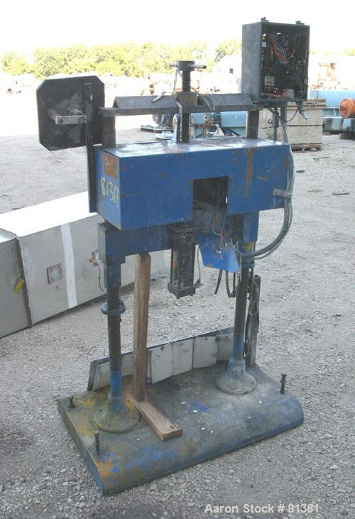 """USED: Taymer hot foil printer for pipe and conduit, model P100. Pipe size 1/4"""" to 5"""" diameter, max speed 100' per minute. Ba..."""
