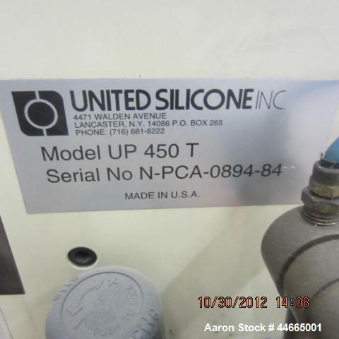 Used-United Silicone Uni-Printer Pad Printer, Model UP 450 T