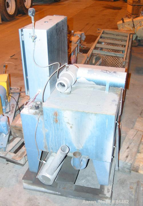 USED: AEC Whitlock vacuum power unit, model VAC5. 3/60/460 volt. (1) Horizontal positive displacement blower with 5 hp motor...