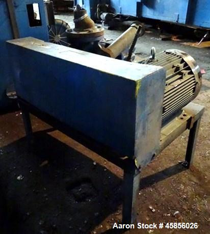 """Used- Blower Engineering Rotary Lobe Blower, Model Tri Lobe TL6, Carbon Steel. Rated approximately 200-500 cfm, 15 psi, 15"""" ..."""