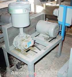 USED: Compressor Engineering vacuum conveying system consisting of (1) Roots horizontal rotary positive displacement blower,...