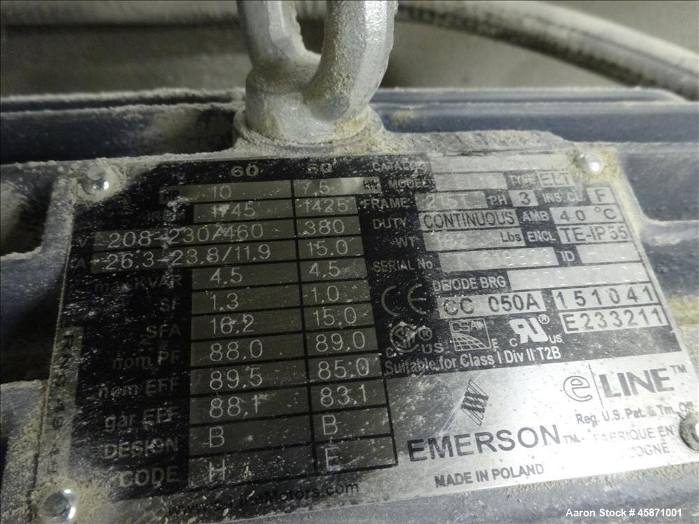 Used- Conair Vacuum Loading System Consisting Of: (1) Gardner Denver 5MQ Positive Displacement Blower, Model GAEMJPA0178, Se...