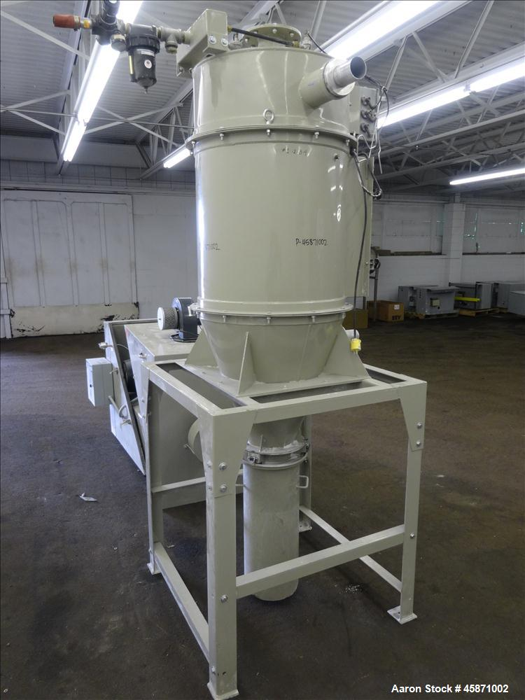Used- Conair Vacuum Loading System Consisting Of: (1) Roots Rotary Lobe Positive Displacement Blower, Model 45JRB, Serial#13...