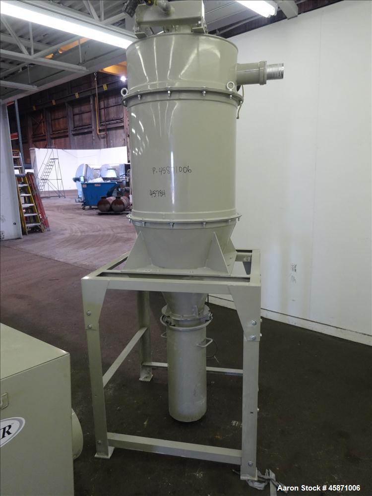 Used- Conair Vacuum Loading System Consisting Of: (1) Gardner Denver 4MQ Positive Displacement Blower, Model GACMJPA018, Ser...