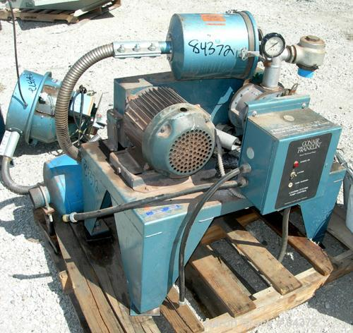 Used- Conair Vacuum Conveying System Consisting Of: (1) Sutorbuilt horizontal rotary positive displacement blower, model 3M-...