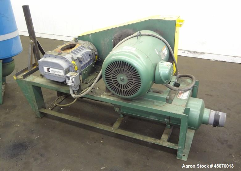 Used- Foremost Machine Builders Vacuum Conveying Push & Pull System, Model P-30-45