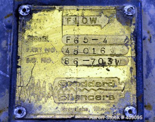 Used- Carbon Steel Fuller Company Vacuum Loader, Model 6MV-F