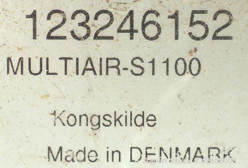Used-Carbon Steel Kongskilde High Pressure Multiair Blower, Type S1100