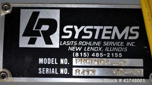 Used- Stainless Steel LR Systems Filtered Receiver, Model PRCF104-3