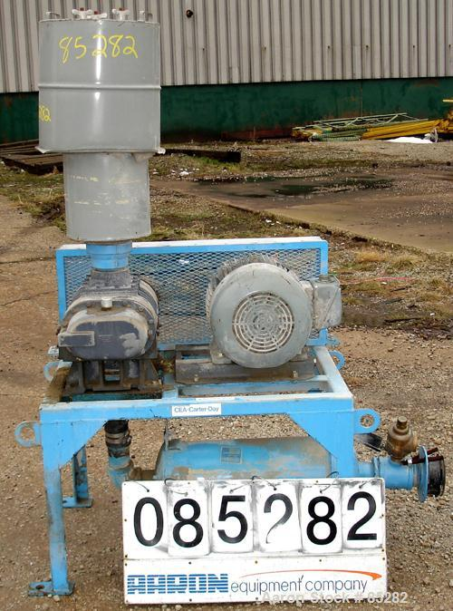 USED: MD Pneumatics Inc vacuum conveying system, carbon steel,consisting of: (1) MD Pneumatics rotary positive displacement ...