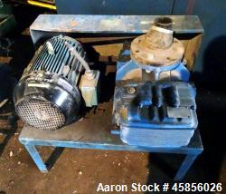 "Used- Blower Engineering Rotary Lobe Blower, Model Tri Lobe TL6, Carbon Steel. Rated approximately 200-500 cfm, 15 psi, 15"" ..."