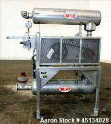 Used- MAC Equipment Vacuum Loading System Consisting Of: (1) Sutorbilt Legend Series Medium Pressure Horizontal Rotary Posit...