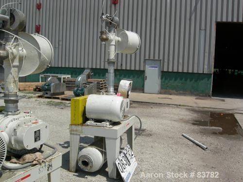 USED: Mould Tek Vacuum Conveying System, model VP2500, carbon steel, consisting of (1) Sutorbilt rotary positive displacemen...