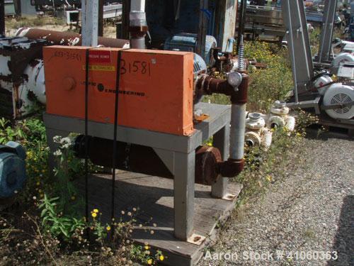 Used- Pacific Engineering 30 hp Blower