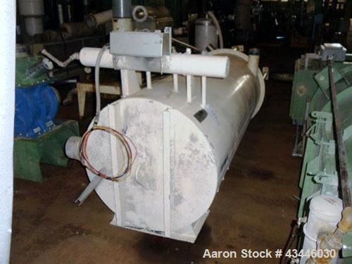 Used- Shick Push Pull Railcar Unloding System. Includes a 60hp blower with silencer, and dust collector.